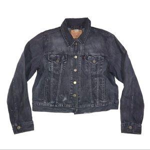 Levi Strauss Dark denim jean jacket